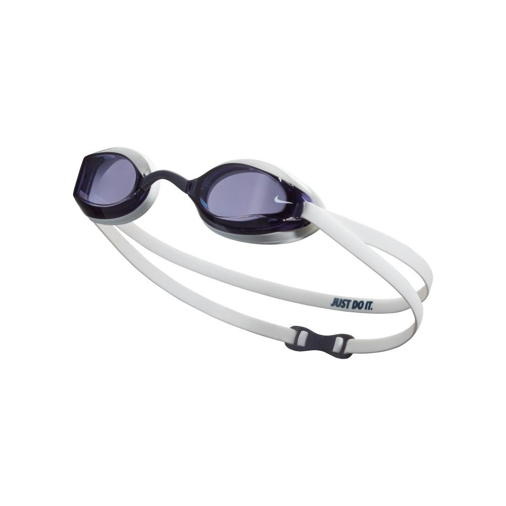NIKE 成人泳鏡 專業型 Legacy 煙霧藍 NESSA179-907