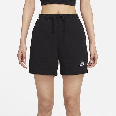 Nike NSW JSY HR SHORT 女短褲-黑-CJ3755011