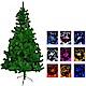 5尺(150cm)豪華版綠聖誕樹(飾品組+100燈LED燈2串) product thumbnail 1