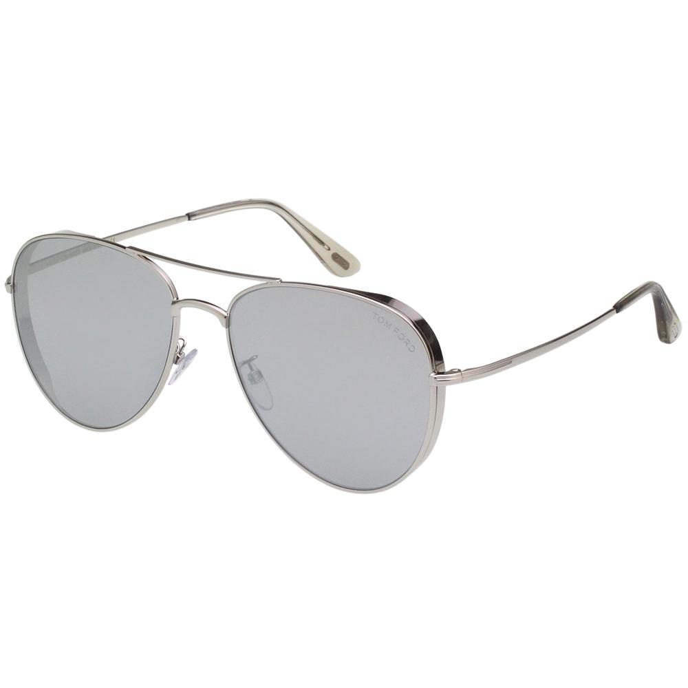 TOM FORD 飛官款 水銀面 太陽眼鏡(銀色)TF723K