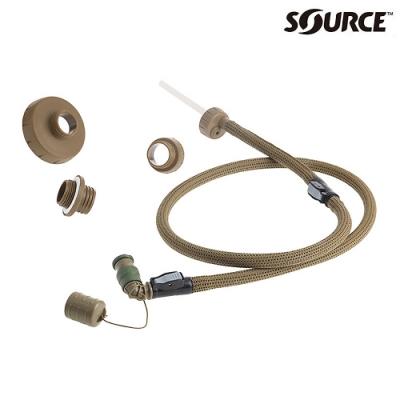 SOURCE 軍用抗菌吸水管Convertube4504360200|狼棕色