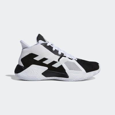 adidas 籃球鞋 緩震 包覆 運動鞋 男鞋 黑白 FX5781 COURT VISION 2.0