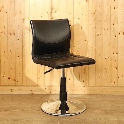 BuyJM 海馬曲線皮革休閒椅/洽談椅/餐椅-免組