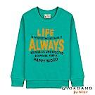 GIORDANO 童裝童趣印花長袖T恤-72 光譜綠