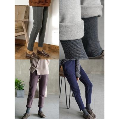 高品質300g加絨加厚純棉大碼內搭褲外穿-設計所在