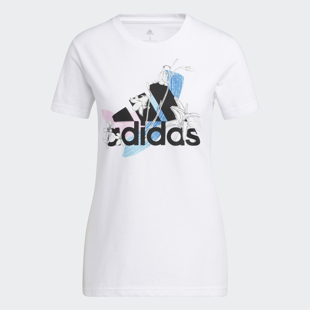 adidas NINI SUM 短袖上衣 女 GN9151
