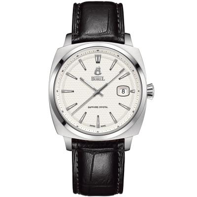 ERNEST BOREL 瑞士依波路錶 復古系列901-白色41mm