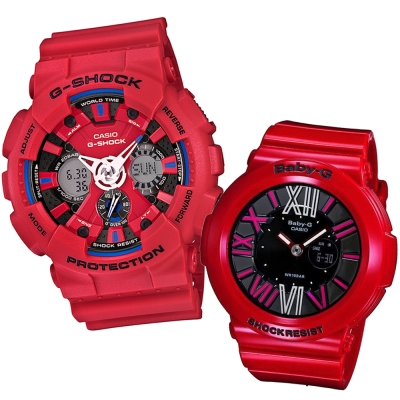 CASIO G-SHOCK&BABY-G 蜘蛛人返校日概念組合錶