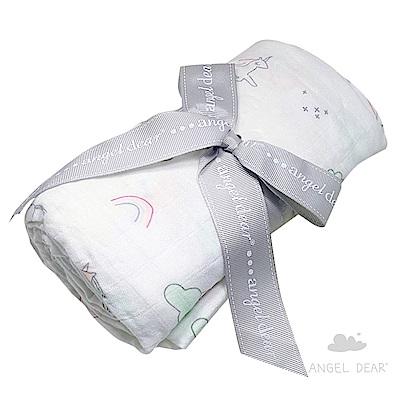 美國 Angel Dear 竹纖維嬰幼兒包巾禮盒 (獨角獸)