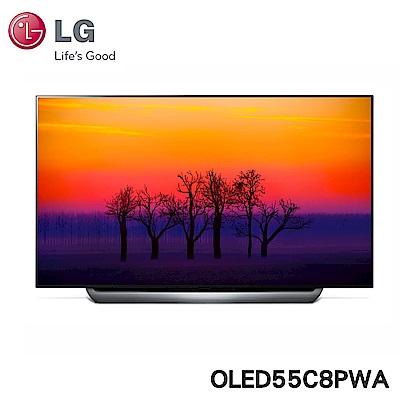 LG樂金 55型OLED 4K液晶電視OLED55C8PWA