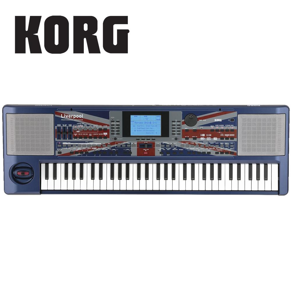 [無卡分期-12期] KORG Liverpool Arranger 61鍵鍵盤合成器