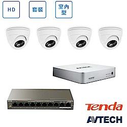 AVTECH HD全室內監控套裝方案