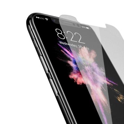 iPhone XS Max 非滿版 半屏 霧面 9H鋼化玻璃膜 保護貼