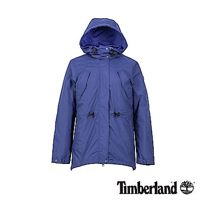 Timberland 女款藍染藍防水羽絨三合一外套|B2117