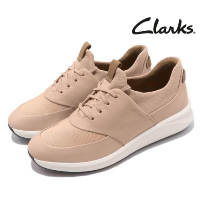 Clarks 休閒鞋 Un Rio Lace 女鞋