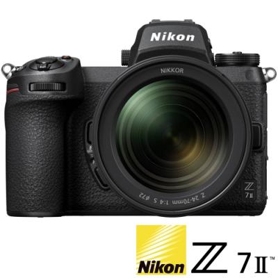 NIKON Z7 II / Z72 KIT 附 Z 24-70mm F4 S (公司貨) 全片幅微單眼相機 五軸防手震 4K錄影 WIFI傳輸 直播