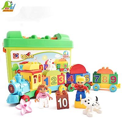 Playful Toys 頑玩具 手提數字火車積木