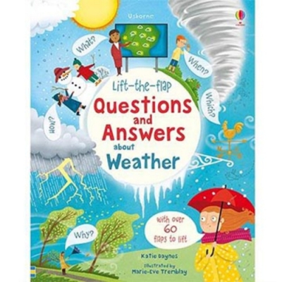 Questions And Answers About Weather 天氣知識翻翻學習書