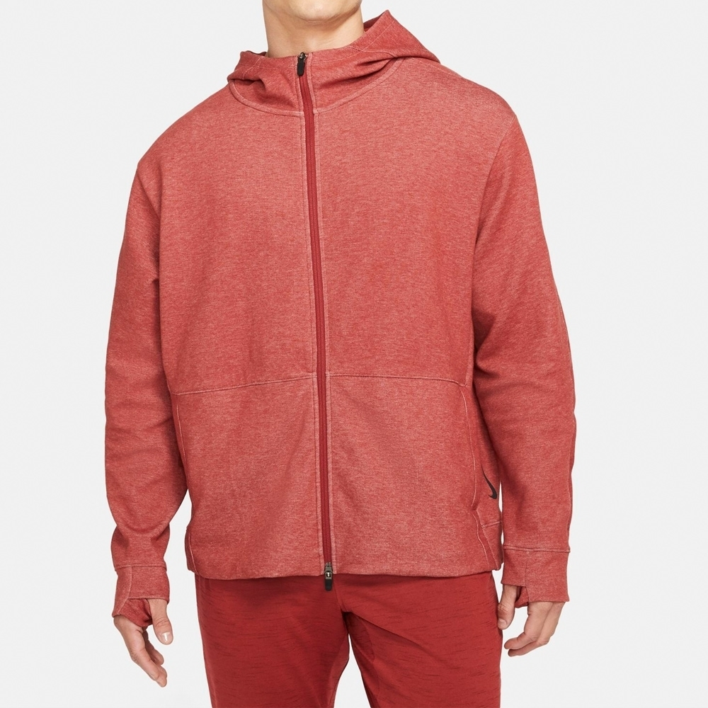 Nike NY DF FLC HD FZ 男連帽外套 粉-CU6261689