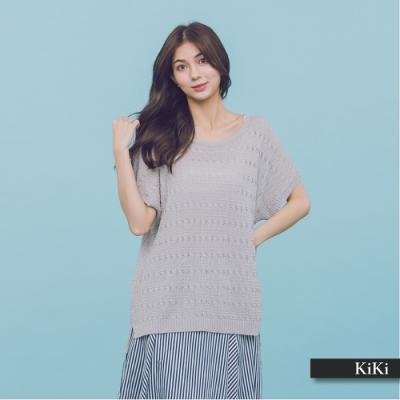 【KiKi】MIT製 優雅氣質-針織衫(三色)