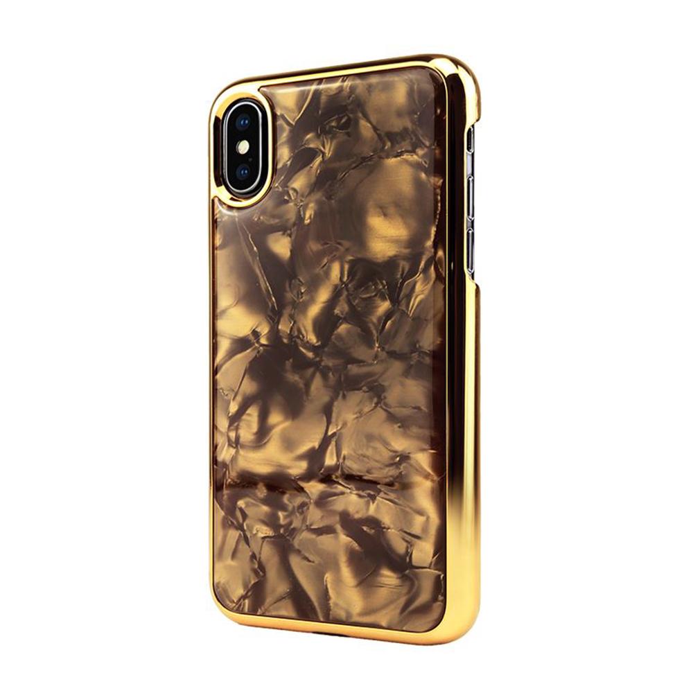 iStyle iPhone X/XS 5.8吋 流沙金手機殼