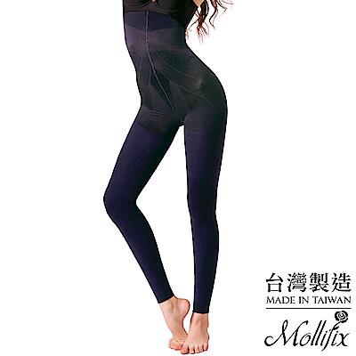 Mollifix瑪莉菲絲 恆溫美型提拉翹臀刷毛塑型褲(寂靜藍)