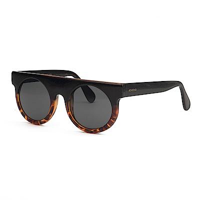 KOMONO 太陽眼鏡 Hippolyte 嬉波系列-黑色琥珀