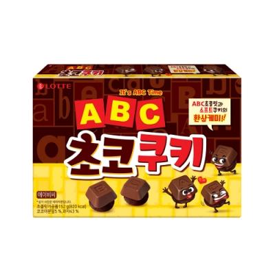Lotte樂天 字母巧克力餅乾(152g)