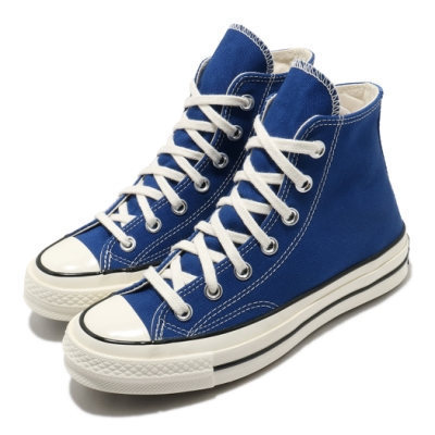 Converse 休閒鞋 All Star 高筒 穿搭 男女鞋 基本款 帆布 簡約 情侶鞋 三星黑標 藍 米白 168509C
