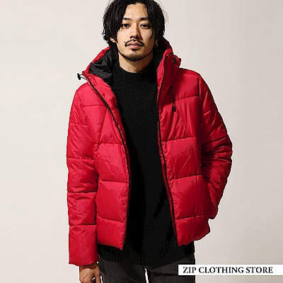 防潑水鋪棉外套(5色) ZIP日本男裝