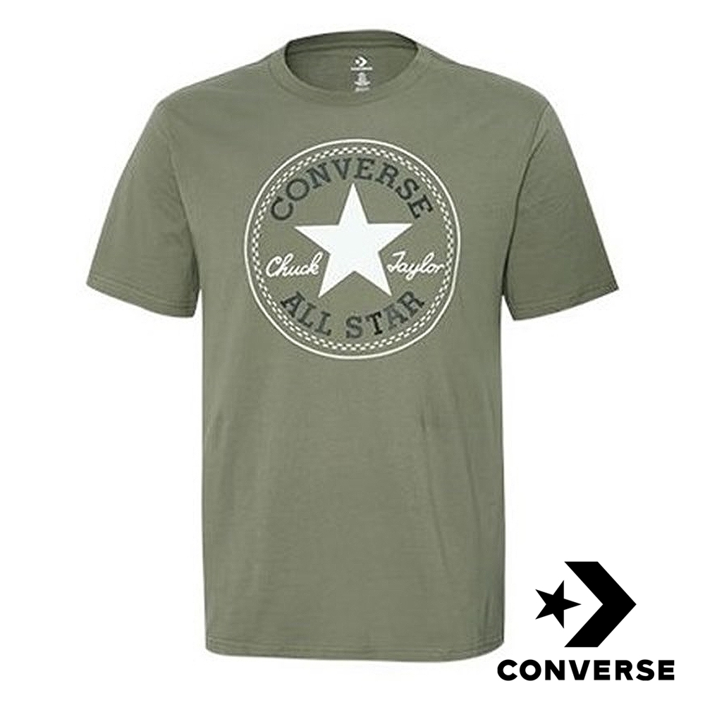 CONVERSE CHUCK PATCH 男短袖T恤 綠 10007887-A17
