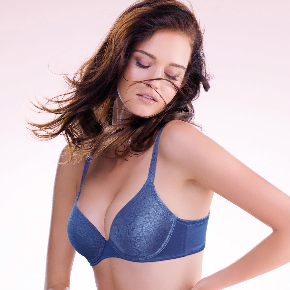 黛安芬-超彈力魔術胸罩系列 A-C罩杯內衣 丁香紫 @ Y!購物