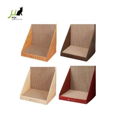 日本Gari Gari Wall(MJU)長方造型 貓抓板 (可立牆) L號 (不挑色隨機出貨) (購買第二件贈送寵鮮食零食1包)