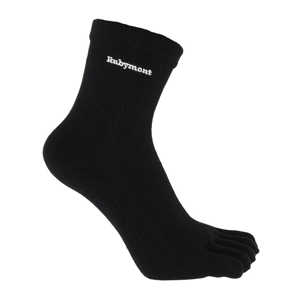 Rubymont 優品網 第三代竹炭抗菌除臭無痕五趾襪~6雙(有加大尺碼)