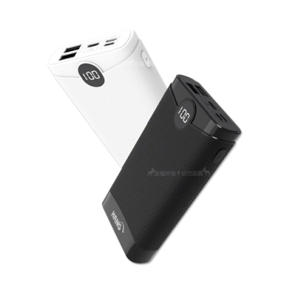HANG 26000 K6雲端商務 不挑線液晶顯示USB雙輸出行動電源