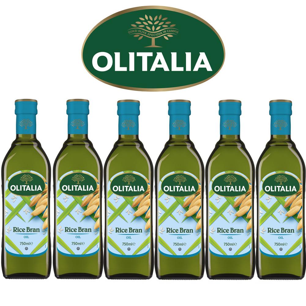 (活動) Olitalia 奧利塔玄米油禮盒組(750mlx6瓶)(春節禮盒)