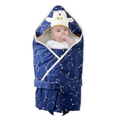 Muslintree嬰兒抱被 全棉新生兒襁褓包巾