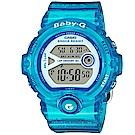 BABY-G 熱血女孩繽紛果凍系列運動錶(BG-6903-2B)-藍色/45mm