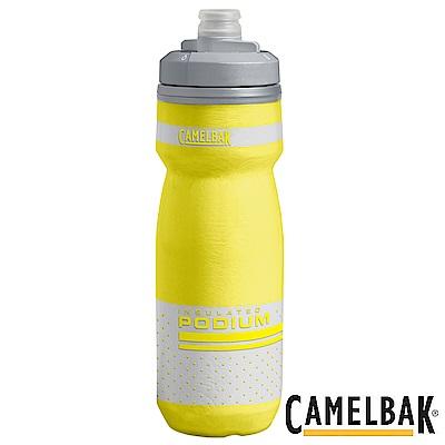 《CAMELBAK》保冷噴射水瓶 豔黃 620ml  (CB1874701062)