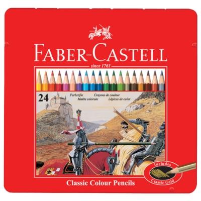 FABER-CASTELL 油性色鉛筆 24色 115845