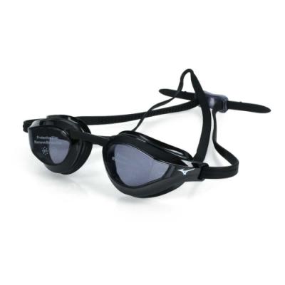 MIZUNO 健康型墊片泳鏡  SWIM 黑