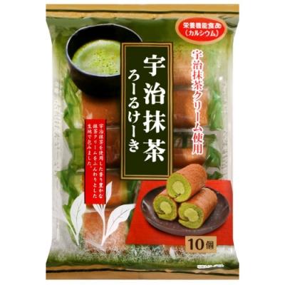 山內製果 抹茶風味蛋糕捲(170g)