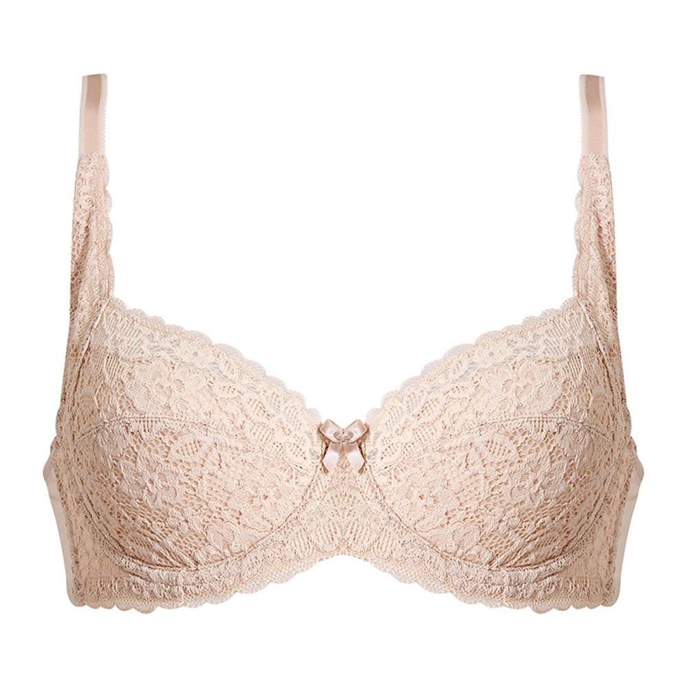黛安芬-機能美型U型美背全罩杯 C-E罩杯內衣(嫩膚)