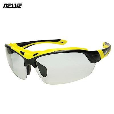 Nessie 尼斯眼鏡 專業運動變色偏光太陽眼鏡-大黃蜂