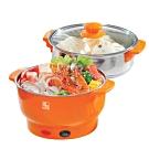鍋寶 3.5L多功能料理鍋(EC-350-D)煎、煮、炒、蒸、火鍋