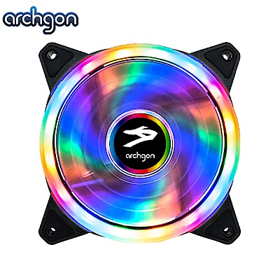 Archgon Blaze RGB 電競風扇-彩虹燈(RGBSF01)-2入組
