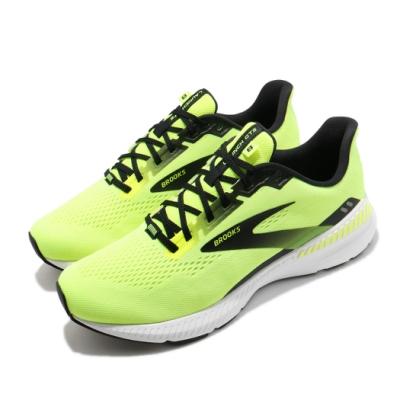 Brooks 慢跑鞋 Launch GTS 8 2E 寬楦 男鞋 路跑 緩震 DNA科技 透氣 健身 球鞋 黃 黑 1103592E774