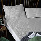 Lily Royal 60支頂級天絲乳膠可水洗軟蓆枕套三件組 特大 夜幕灰