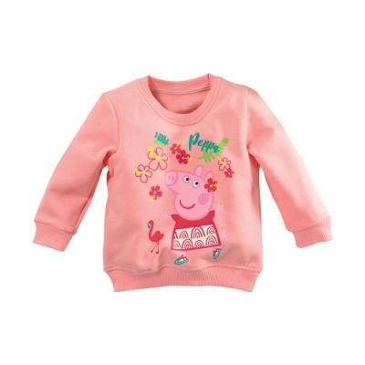 粉紅豬小妹授刷毛長袖T恤 k61142 魔法Baby