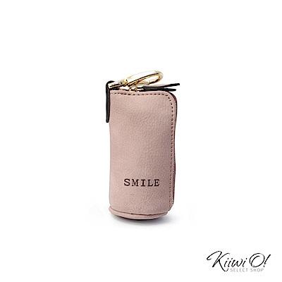 Kiiwi O! 大容量 鑰匙包/零錢包 Willa 粉